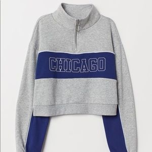 Sweaters - Chicago Cropped Quarter Zip